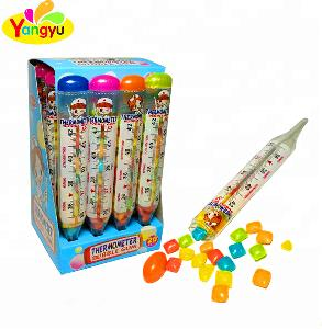 Child hot sale Thermometer shape colorful mini  Chewing Gum with fruity taste