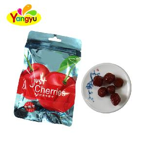 Delicious Dry sweet and sour cherry in bag