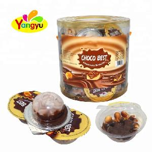 Hot sale mini chocolate  bar chocolate eggs chocolate biscuit cup