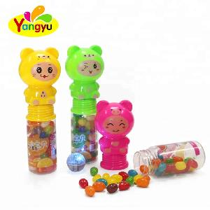 Halal New  toys light hot sales  toy bear with candy soft candy  of kids