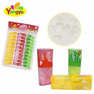 Halal Plastic  Mix  Bottle Fruit Fresh Xylitol Chewing Gum Candy