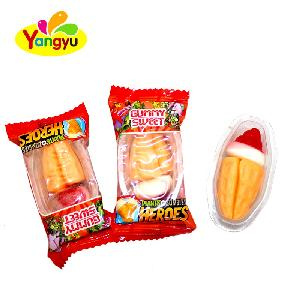 Yummy Plants Zombles Heroes Sweet Soft Candy Gummy Fruit Candy