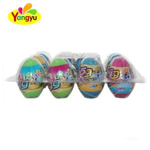 Fancy Dinosaur  Toy  Egg with Pop  Candy  and Tattoo  Sweet  Confectionery Surprise Egg  Toy