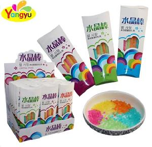 Halal Crystal Sugar Sticks With Fruity Flavor for Wholesale