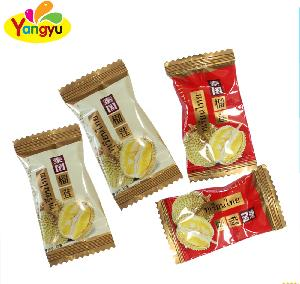 Halal Thailand Durian hard candy with sweet and good taste  Fruit Flavor Hard Boiled Candy