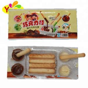 20g Biscuit With Jam Chocolate Sticks Cracker