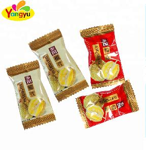 thailand Cheap Price Gummy  Durian   Candy  Soft Chewy  Candy