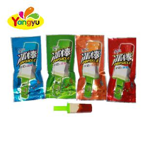 Milk Plus Multi Fruit Flavor Popsicle Shape Candy With Whistle