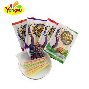 China Supplier Fruit Flavor CC Stick powder candy