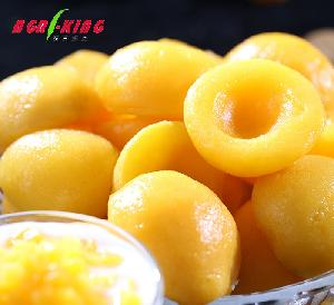 Chinese New Supply List of yellow fruits IQF Frozen yellow peach Halves exotic fruits