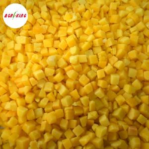 Chinese Bulk IQF Frozen Wholesale Yellow Peach Dices