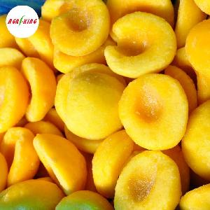 IQF Frozen Yellow Peaches Variety Slices Halves
