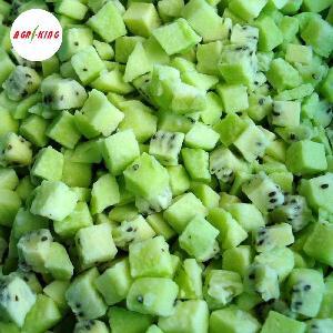 IQF Frozen Green Half Cube Cut Kiwi Fruit