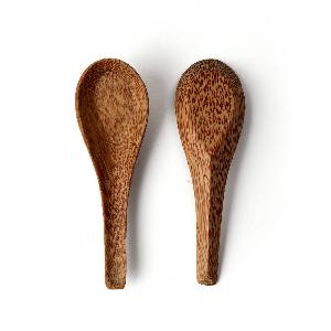 Coconut wood soup spoon high quality cheap price wholesale for export