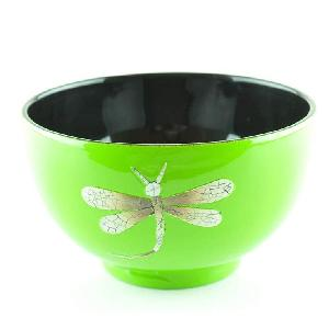 OEM Natural Wood Lacquered Wooden Bowls Handmade Tableware