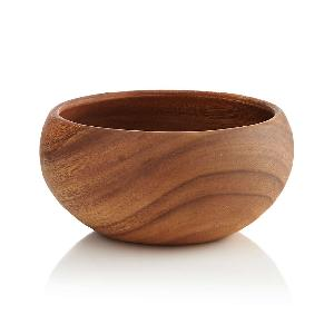 Natural cheap  price   wood  bowls food safe eco friendly wholesale from Vietnam