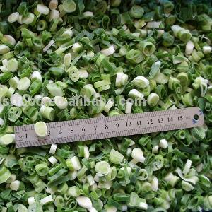 supply BRC certified IQF green onion cut dice good quality hot sale