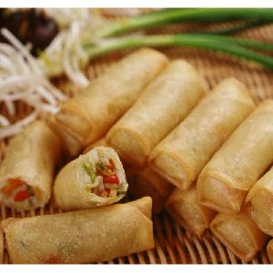 IQF frozen spring roll with vegetables