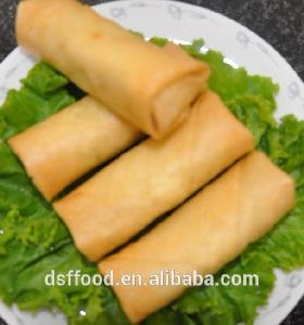 supply BRC approved good quality IQF frozen vegetables spring roll hot sale
