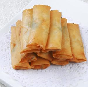 Hot sale high quality delicious frozen vegetable  spring   roll