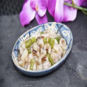 seasoned boiled octopus wasabi