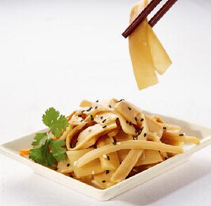 Menma fermented bamboo shoots for ramen noodle topping