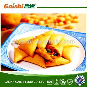 2014 hot sale high quality halal frozen vegetable samosa
