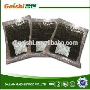 Hot sale delicious 100 sheets  roasted   seaweed   snack  for sushi
