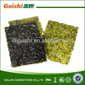Korean Flavor Corrugated Crushable Dried Sushi Roasted Seaweed Yaki Ajitsuke Nori sheets