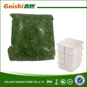 2016 Recipes Factory Sells Directly Japan Frozen Bulk Cultivated instant Seaweed Salad Wakame
