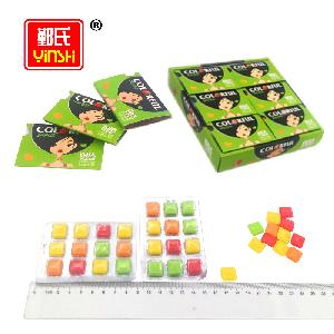 Fruit  Flavor Colorful Chewing  Gum   Xylitol