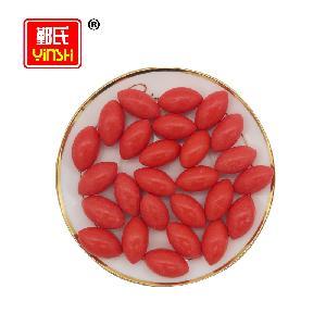 Hot Sale Africa Olive Shape  Strawberry Flavor  Bubble Gum
