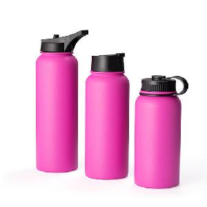 Customized Logo Sports Hydro Iron modern double walled Flask Stainless Steel Vacuum insulated Thermos Flask