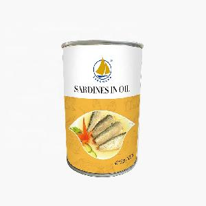 HACCP approved factory sardine types of canned fish in tomato sauce oil brine