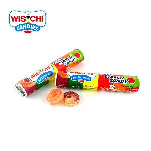 Free sample WISICHI multi-color soft starch candy jelly gummy candy fruity wholesale