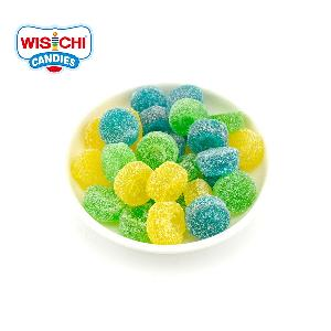 Free sample halal fruity  jelly  gummies  candy  mango grapes blueberry flavours  gummy   candy  custom
