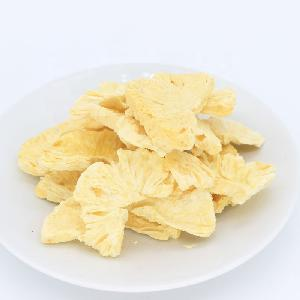 Bulk crispy freeze dried pineapple dice and slices no sugar added dried pineapple