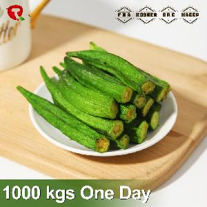 Chinese fruits and vegetables chips vacuum fried dried okra chips