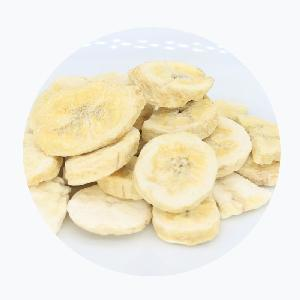 Tasty healthy freeze dried  banana   sweet   banana  chips