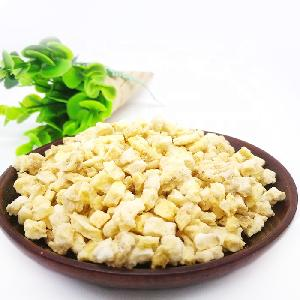 FD dried banana dice vacuum freeze dried banana chips