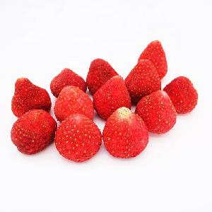 Dried whole strawberry with good quality for health and leisure freeze dry strawberry