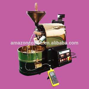 K Type Probe Equipped 1Kg Electric  Coffee  Roaster