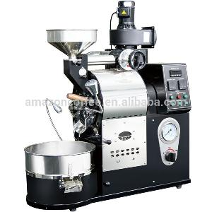1 kilo coffee beans roasting machine gas type coffee roaster for cafe