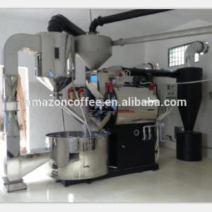 industrial use 40kg 60kg steel drum and leakage protector larger coffee roaster in sale