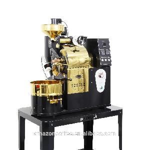China Dalian small coffee beans processing equipment 2kg coffee roaster
