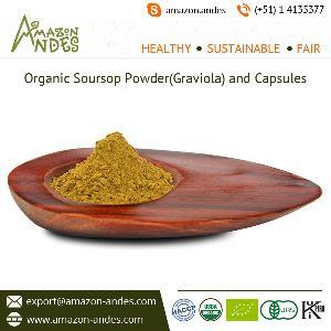 Organic Soursop Powder(Graviola) and Capsules