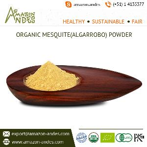 Perfectly Processed Mesquite/Carob Powder from Top Ranked Supplier