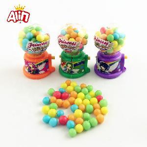 Mini Egg  twisting   machine  with rainbow halal jelly bean candy