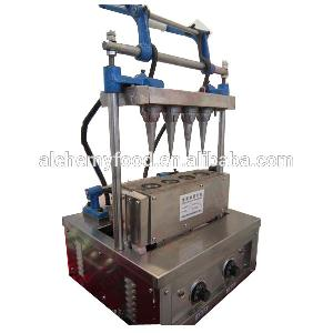 semi automatic stainless steel waffle cone machine price