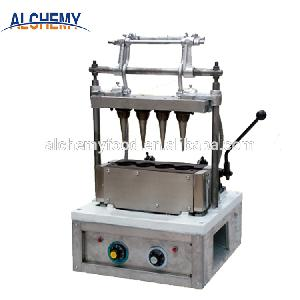 stainless   steel  industrial  machine  for  making  waffle cone